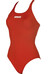 arena Solid Swim Pro badpak Dames rood